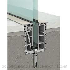Embedded U Channel Railing for Balcony pictures & photos