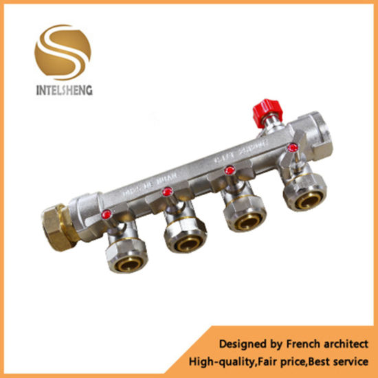 Brass Manifold with 4-8way pictures & photos