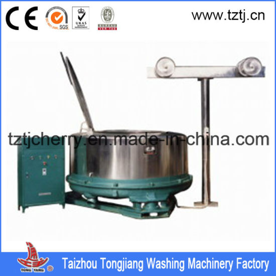 500kg Wet Garment Fabric Hydro Extractor Dewatering Machine with Lid pictures & photos