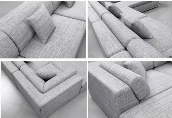 Modern Home Living Room Furniture Large Size Fabric Sofa (HC-R566) pictures & photos