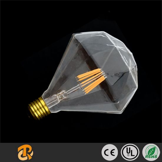 5W Diamond Style LED Dimmable Light Candle Edison Retro LED Bulb pictures & photos