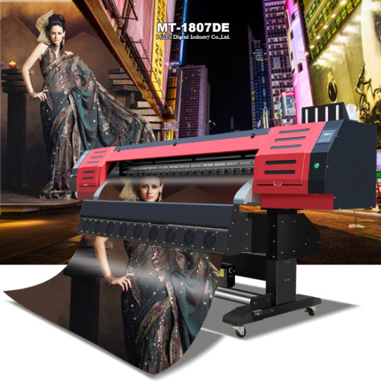 Inkjet Eco Solvent Printer Large Format Digital Flex Printing Machine Flex Printing Machine pictures & photos