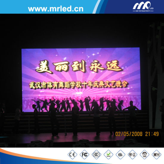 Best Design for Intelligent UTV1.875mm Indoor LED Display Screen by Mrled pictures & photos