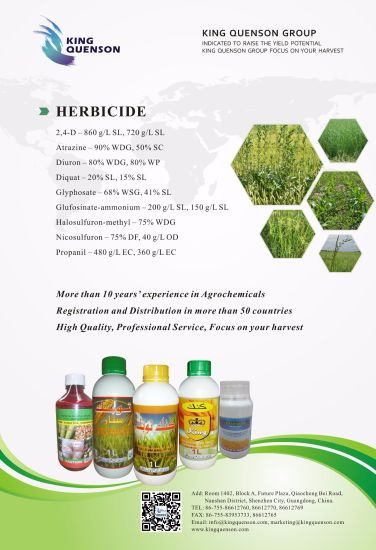 China King Quenson Customized Label Weed Control Products Herbicide
