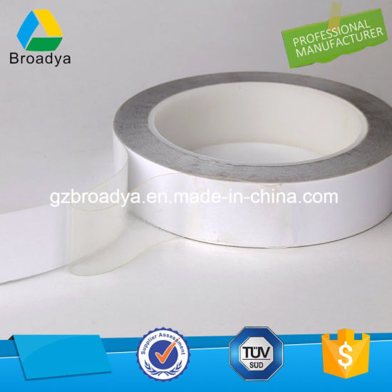 Double Sided Transparent Pet Adhesive Tape White Release Paper (BY6967W) pictures & photos