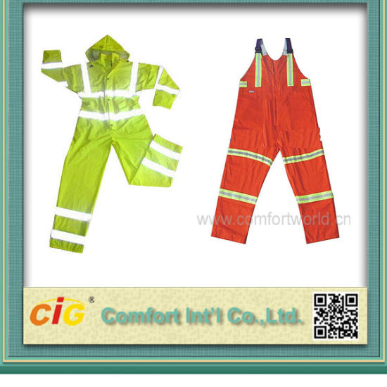 Waterproof Work Jacket Hi-Vis Reflective Trousers Workwear for Men pictures & photos