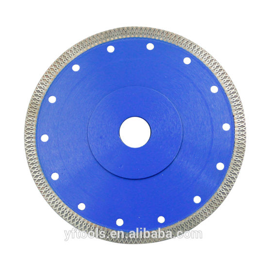 9 Inch 230 Diamond Super Thin X Type Saw Blade for Cutting Tile pictures & photos