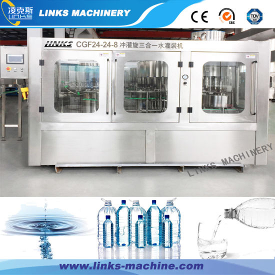 Small Factory Complete Pressure Water Filling Machine Price pictures & photos