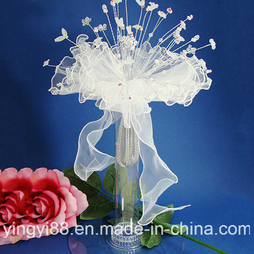 New Acrylic Clear Wedding Bride Bridal Flower Floral Bouquet Display Holder Stand pictures & photos