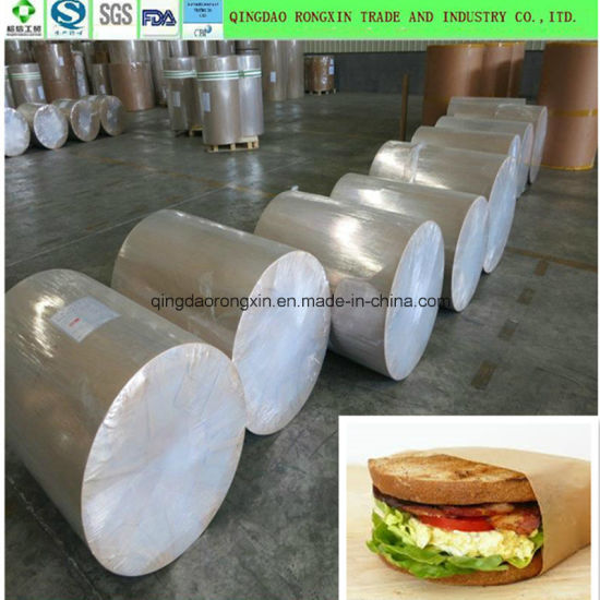 Hamburger Wrapping Paper, PE Coated Paper for Food Packaging pictures & photos