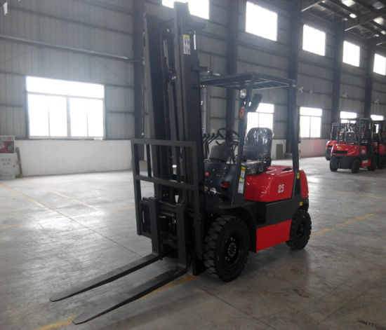 Niuli 3t Best Sell Eletric Forklift Truck pictures & photos