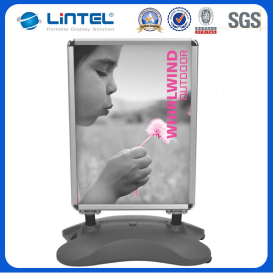 China 32mm A1 Snap Frame Double Sided Poster Stand (LT-10G) - China ...