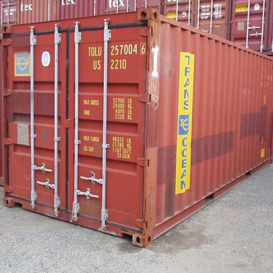 China Shanghai Tianjin 20FT Gp /40FT Gp /40FT Hc ISO Dry ...