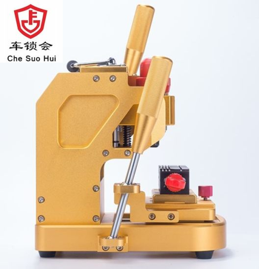 Golden Mini Portable Key Cutting/Duplicating Machine for All Keys pictures & photos