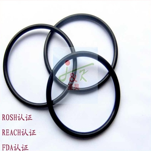 Colored Molding Silicone FKM Viton Rubber O Shape Ring pictures & photos