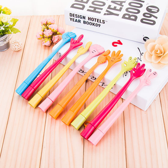 Wholesale Creative Cartoon Bendable Finger Ballpoint Pen pictures & photos