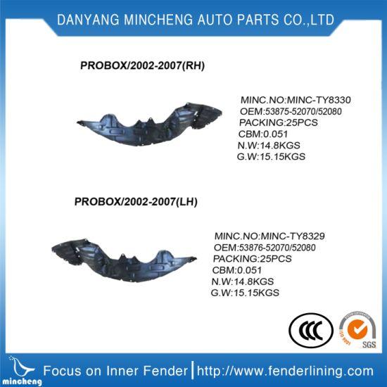 Auto Parts Fender Liner Mud Guard Rear Wheel Rh&Lh for Mazda 6 OEM Gj6a-56-