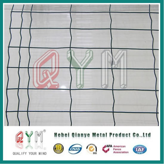 China PVC Coated 4X4 5X5 6X6 Welded Wire Mesh Euro Fence - China ...