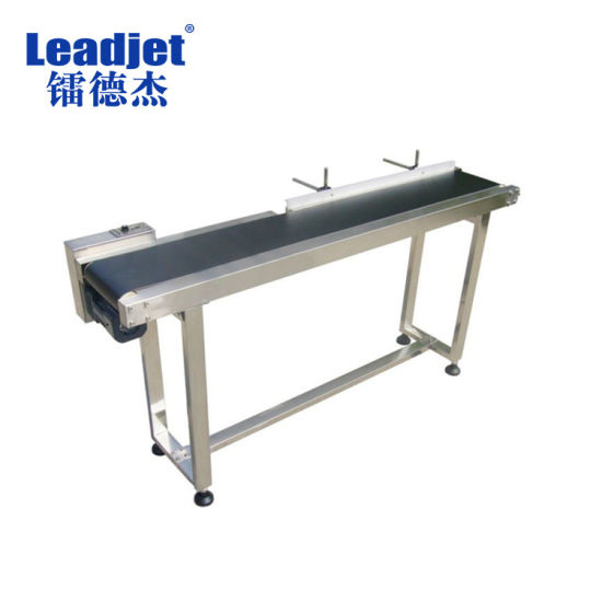Speed Adjustable Stainless Steel Working Table Conveyor Belt pictures & photos
