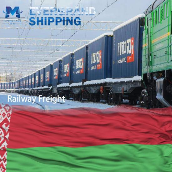 China Top Railway Freight Shipping to Belarus/Minsk pictures & photos