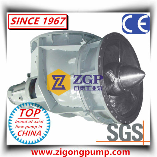 Horizontal & Vertical SS304 Chemical Axial Flow Elbow Propeller Pump