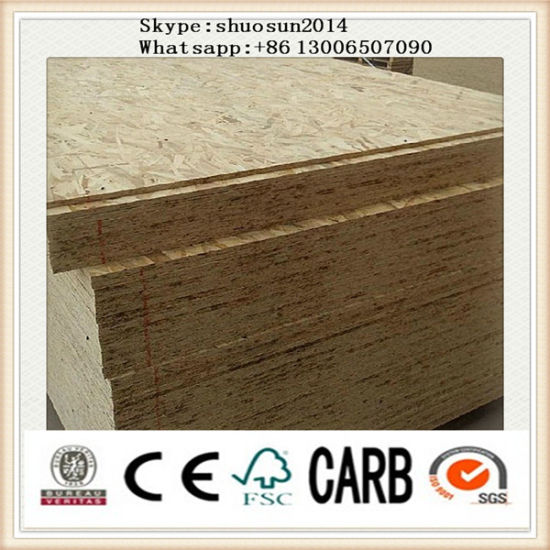 China Goldluck 9mm OSB (oriented strand board) - China