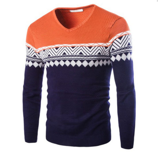 d39d2d497b China Hot Sale Knit Mens Pullover Jacquard Sweaters - China Pullover ...