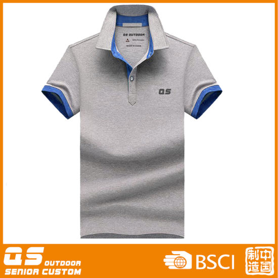 Men′s Polo Melange T-Shirt pictures & photos