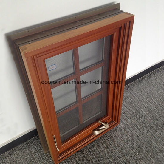 American Australian Style Foldable Crank Handle Casement Window