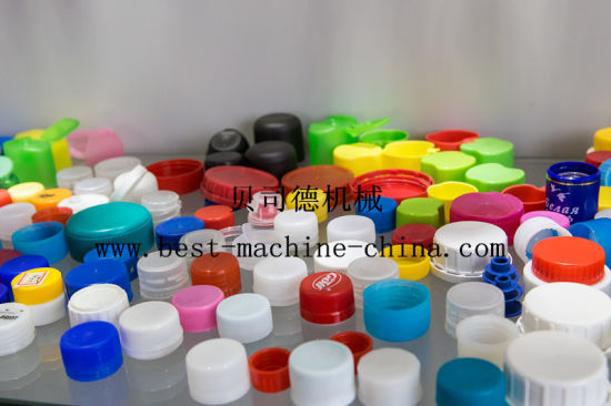 High Quality and Low Price Plastic Manual Water Bottle Cap Injection Molding Making Machine pictures & photos