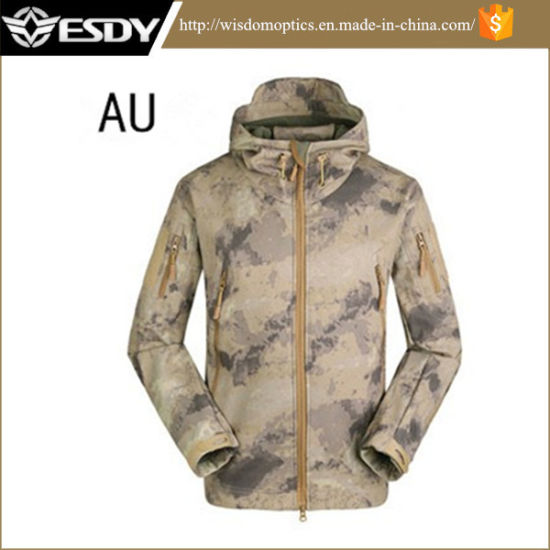 c54fcfdd9cfb4 Airsoft Shark Skin Soft Shell Outdoor Military Tactical Jacket pictures &  photos