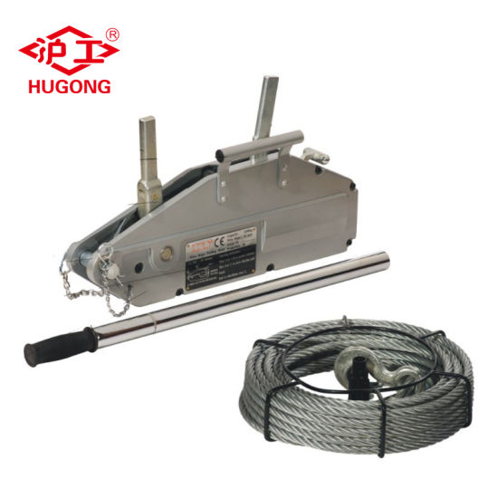 China Compact Wire Rope Pulling Equipment Hand Hosit - China Wire ...