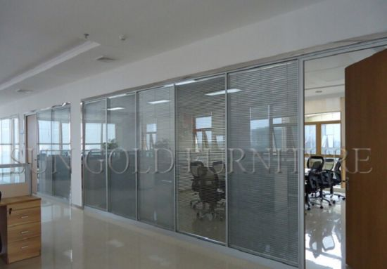 china modern interior glass curtain wall office partition withmodern interior glass curtain wall office partition with shutter (sz ws618) pictures \u0026