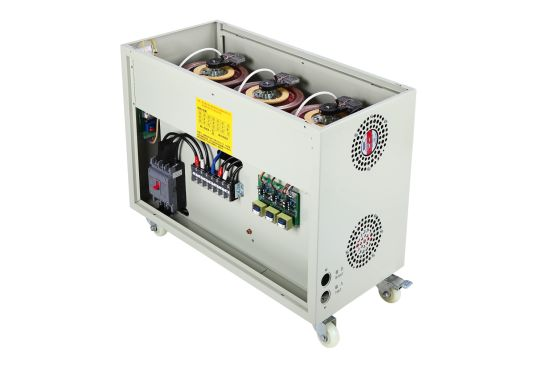 China Carbon Brush Control Dry Type Three Phase 60kva Avr Automatic Ac Voltage Regulator With Factory Price 220v 380v Customized China Voltage Regulator Automatic Voltage Regulator