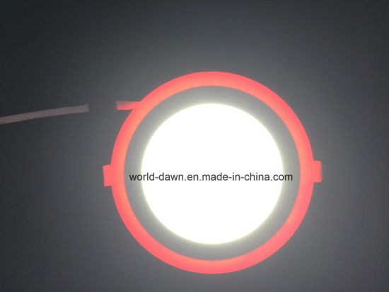 2 Colors Panel Light Red Edge LED Ceiling Panel Light pictures & photos