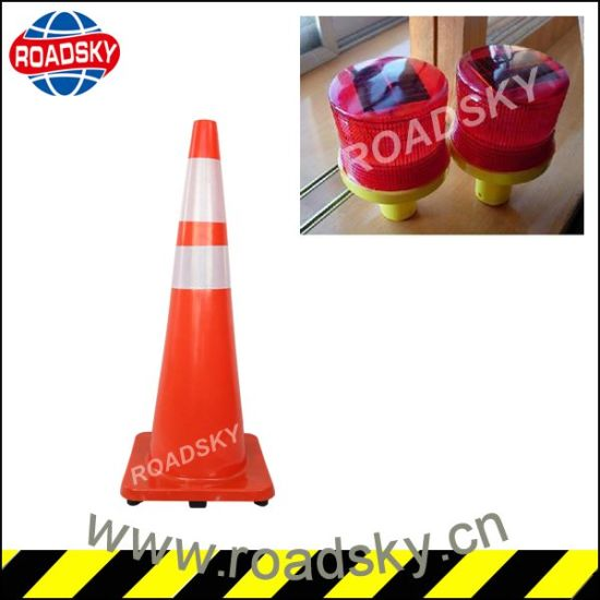 Cheap Reflective Highway Construction Safety Cones pictures & photos