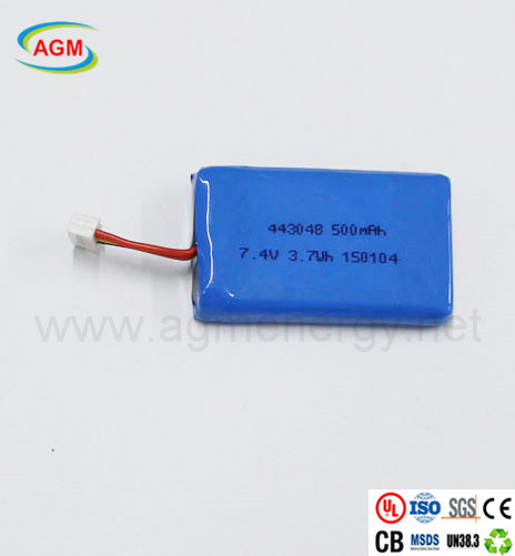 Pl443048 500mAh 7.4V Polymer Lithium Battery