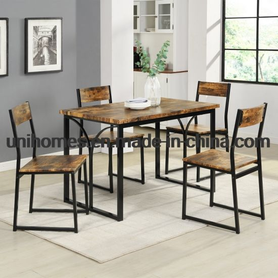 China Manufacturer 5 Pieces Dining Set, Dining Room Sets For 4