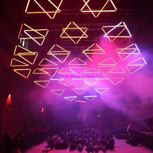 Rigeba Disco DJ Stage DMX Lifting Kinetic LED Bar Tube for Party Show