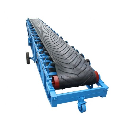 Low Price Rubber Ep / Nn 100 200 300 Flat Conveyor Belt for Coal Mining