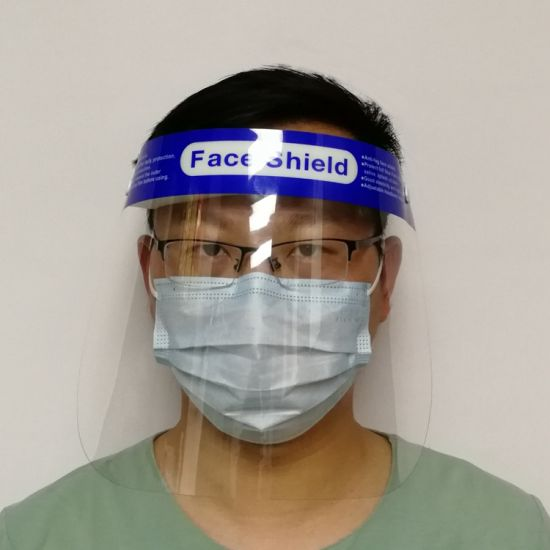 Protective full face safety shield anti-fog anti-static optically clear
