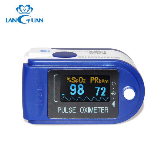 Fingertip Handheld Medical Digital Pulse Oximeter for Sale