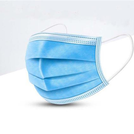 Blue Premium Soft Earloop Procedure Disposable Face Mask