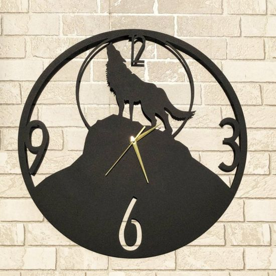 Novel Metal Wall Art High Quality Wall Clock