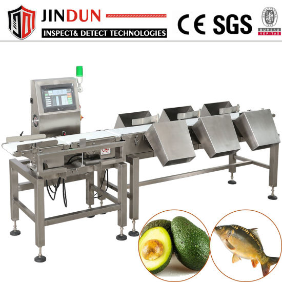 High Precision Food Industrial Conveyor Belt Auto Weighing Scale/Weight Checker/Checkweigher