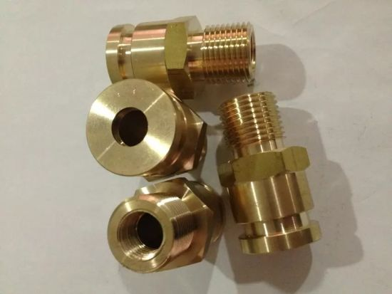 China CNC Turning Brass Thread Bolt for Air Conditioner