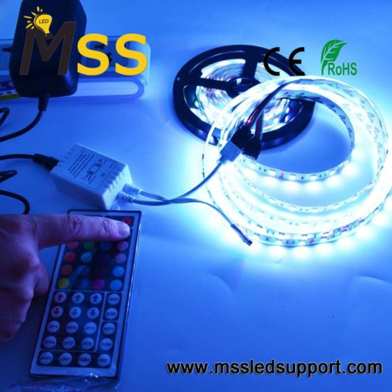 LED TV Lighting USB Connector 5050 LED Strip 0.5m 1m 1.5m 2m White RGB 5V LED Strip Light