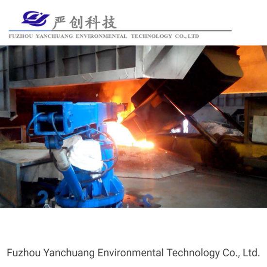 Induction Furnace Manipulator Melting Scrap Steel 15t Induction Furnace