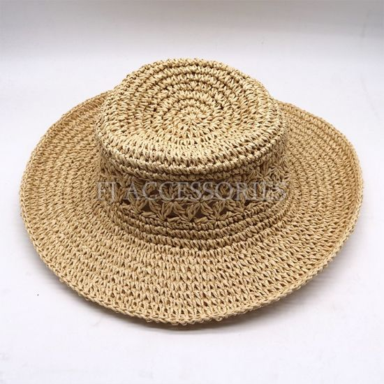 Factroy Wholesale Fashionable Panama Straw Hat pictures & photos