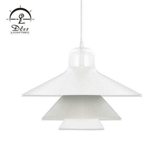 Modern Aluminum Pendant Light White Chandelier